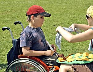 bafa handicap enfant